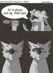 Warriors LOST: Chapter 1 - Page 4 by bestsk8eva