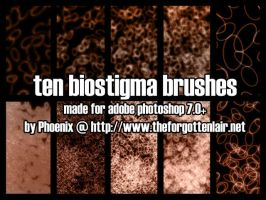 BioStigma Brushes by Red-Eclipse