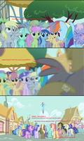 Derpy and Doctor Whooves in Season 2 Ep 8 by 8feet