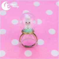 Crystallized bunny 2 Ring by CuteMoonbunny