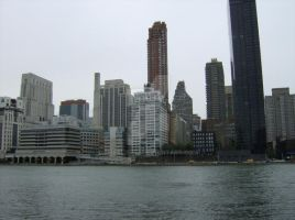 Water View Midtown Manhattan by Charlief43