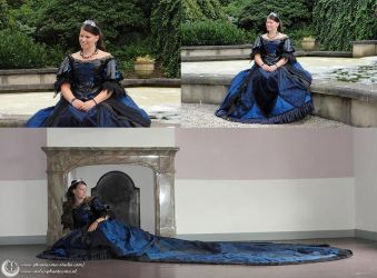 Raven dress by Phantasma-Studio