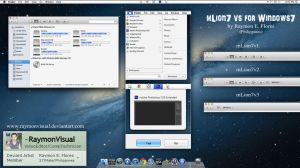 mLion7 for windows7 updated2 by RaymonVisual