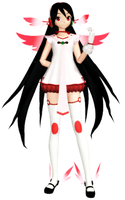 MMD Angel Zatsune Model DL by ChestNutScoop