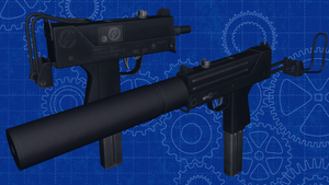 [MMD] Ingram MAC-11A1 for DL by AbyssLeo