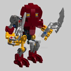 Bionicle Voya Nui Matoran Balta by E-Matt