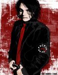 My Chemical Romance Gerard Way by ATurner-Design