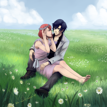 A world for just the two of us by Koto-wari