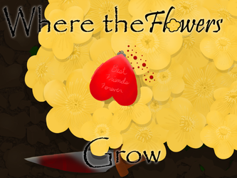 Where the Flowers Grow Title Card by VenomQuill