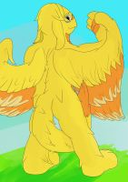 Gryph on a hill by dalnariarna