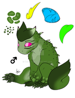 Adopted Green Youngling by Trickstyr
