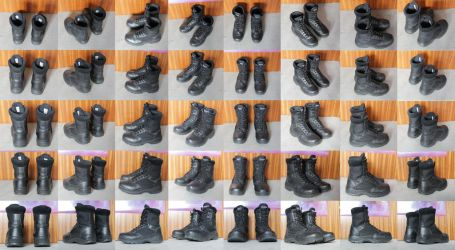 Military Boots Stock by Rookie141