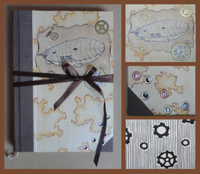 World Travel Book: Steampunk Edition by Traumfaengerin-Wish