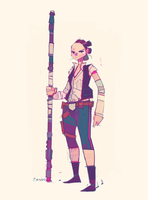 Rey-a-Day 81 Solo by michaelfirman