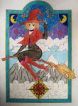 Little Witch in color by Natsu-chan-94