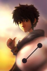 Hiro Hamada and Baymax Big hero 6 by CTiahao