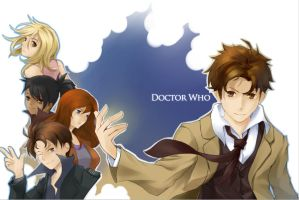 The Doctor and His Companions by osmosis8
