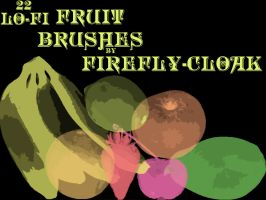 Lo-Fi Fruit Brushes by firefly-cloak