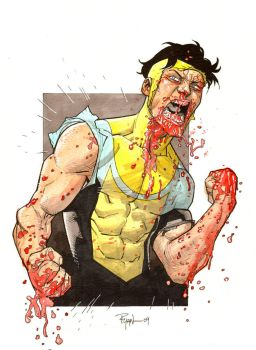 Another beat-up Invincible by RyanOttley