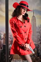 GeekAndMonday - Carmen Sandiego by MorganaCosplay