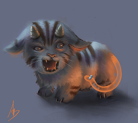 Baby chimera by trungbui42