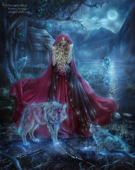 Other fairy tales: Red Riding Hood. Hunting by TatyanaChe