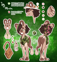 Ivy - reference sheet by BlueberryChill
