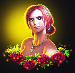 Triss Merigold by ElyGraphic