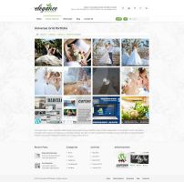 Grid Portfolio - Elegance Wordpress Theme by ait-themes