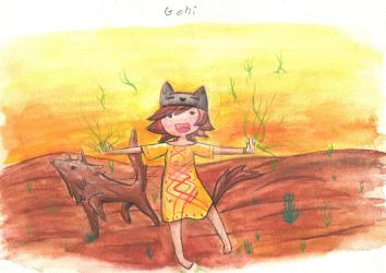 Gohi Coyote Yaqui. by ah-puch-zegno