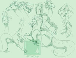 dreg sketches by ShapeChat