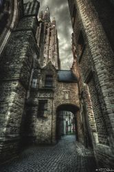 Alleyway by Nichofsky