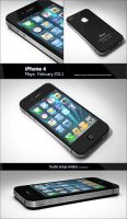 iPhone 4 by PixelPirate