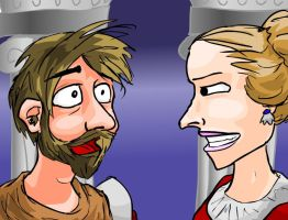 Lady and Macbeth confrontation by e-tahn