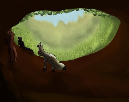 An Open Hole by Whitehuntress