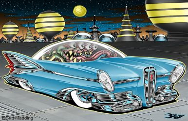 Cosmic Edsel by Britt8m
