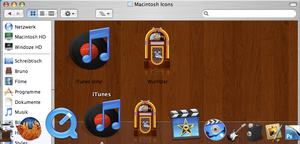 Wurlitzer iTunes Icons by BrunoTorres