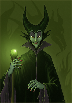 Maleficent by Annausagi
