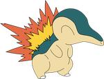 Cyndaquil by Captain-Connor