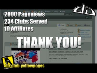 2K Pageviews by DA-club-yellowpages