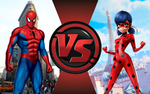 CFC|Spiderman vs. Ladybug by Vex2001