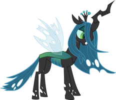 Queen Chrysalis Vector by red-pear