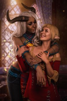In love with qunari 4 by EkaterinaFr