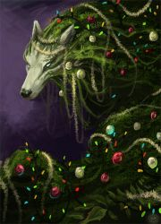 Christmas Plant Spirit by AlectorFencer