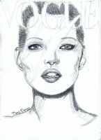 Kate Moss Vogue WIP by MsTemmii