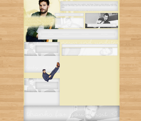 Jamie Dornan layout 2 by VelvetHorse