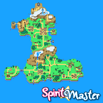 Spirit Master - World Map by Rossay