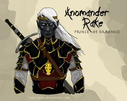 Anomader Rake: Prince of Darkeness by YapAttack