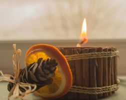Day 328: Oranges, Cinnamon and Candles by Kaz-D