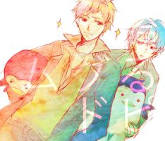 Mawaru_penguindrum_brothers by wehip